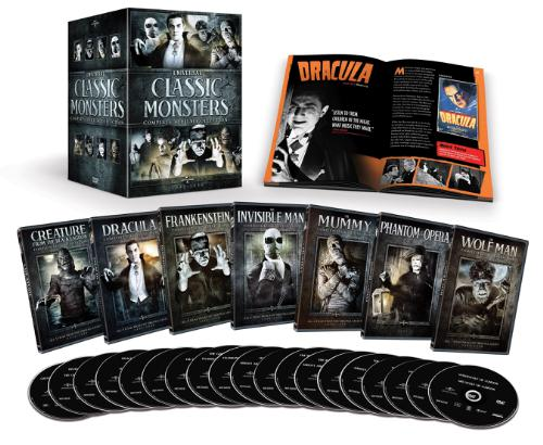 Universal Studios Home Entertainment Classic Monsters