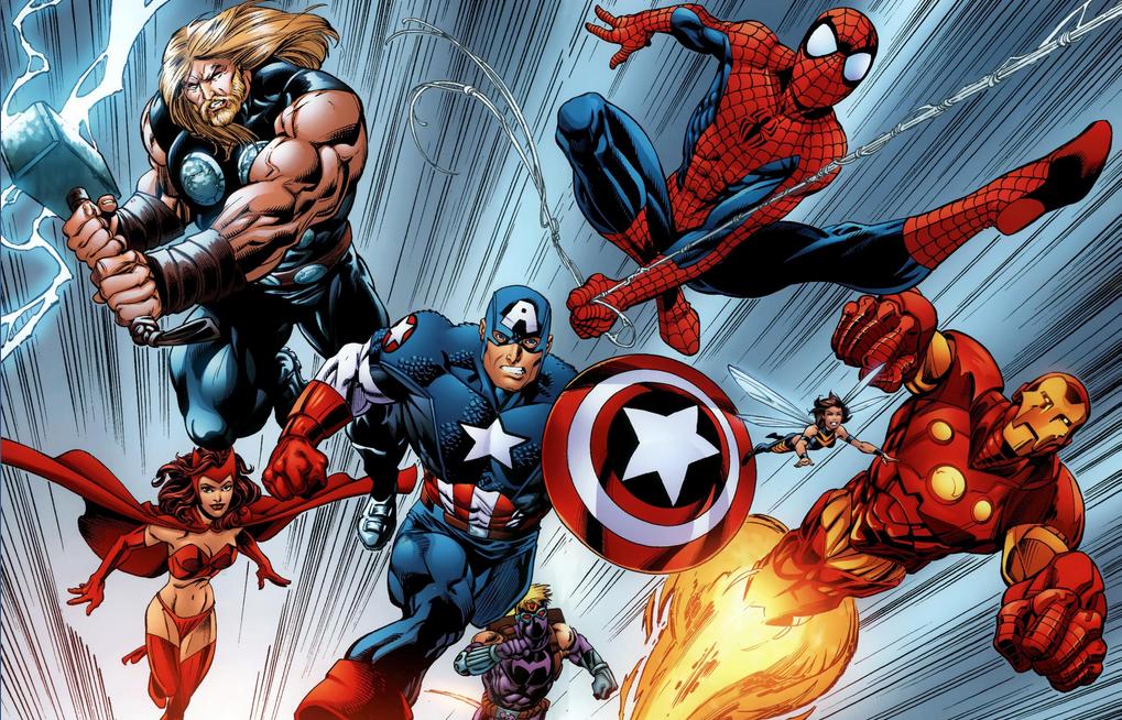 avengers spider-man