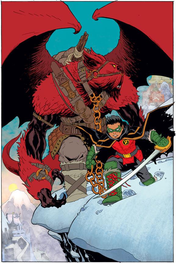 robin son of batman cover
