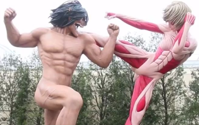 attack on titan universal studios japon