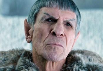 leonard nimoy spock viejo star trek