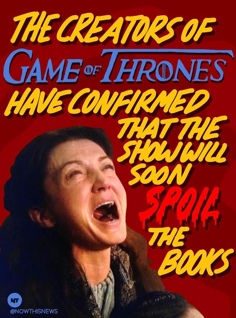 game of thrones spoilers novelas