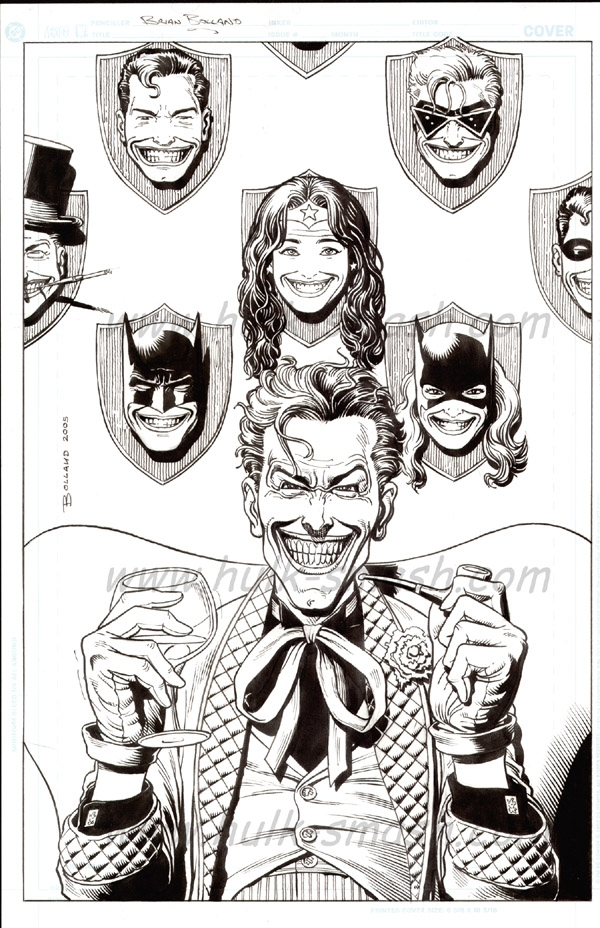 joker commission brian bolland