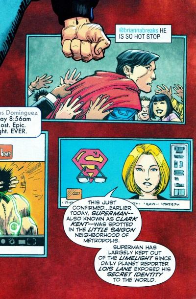 divergence identidad superman