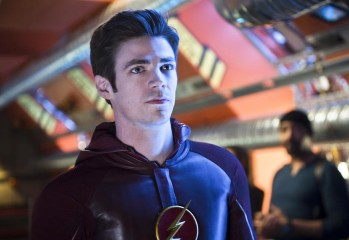 "The Flash -- ""Fast Enough"" -- Image FLA123A_0086b -- Pictured: Grant Gustin as Barry Allen / The Flash -- Photo: Diyah Pera/The CW -- © 2015 The CW Network, LLC. All rights reserved."
